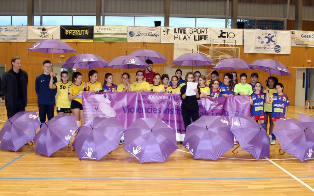 Esportiu Castelldefels contra la violència de gènere