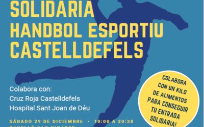1ª Jornada Solidària del Club Handbol Esportiu Castelldefels