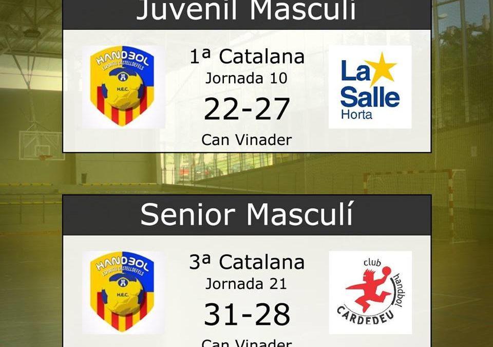 Resultats dels partits del 23 i 24 de març