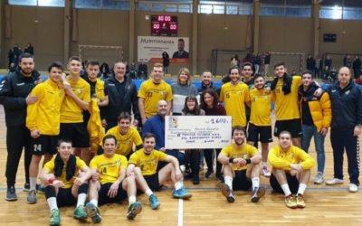 L'HEC recull a la II Jornada Solidària 1600€ per ANADEJU