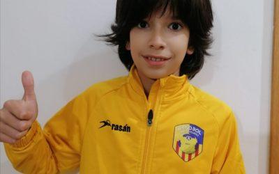 Daniel Lozano, primer representant de l'Handbol Esportiu Castelldefels al Consell de la Infància